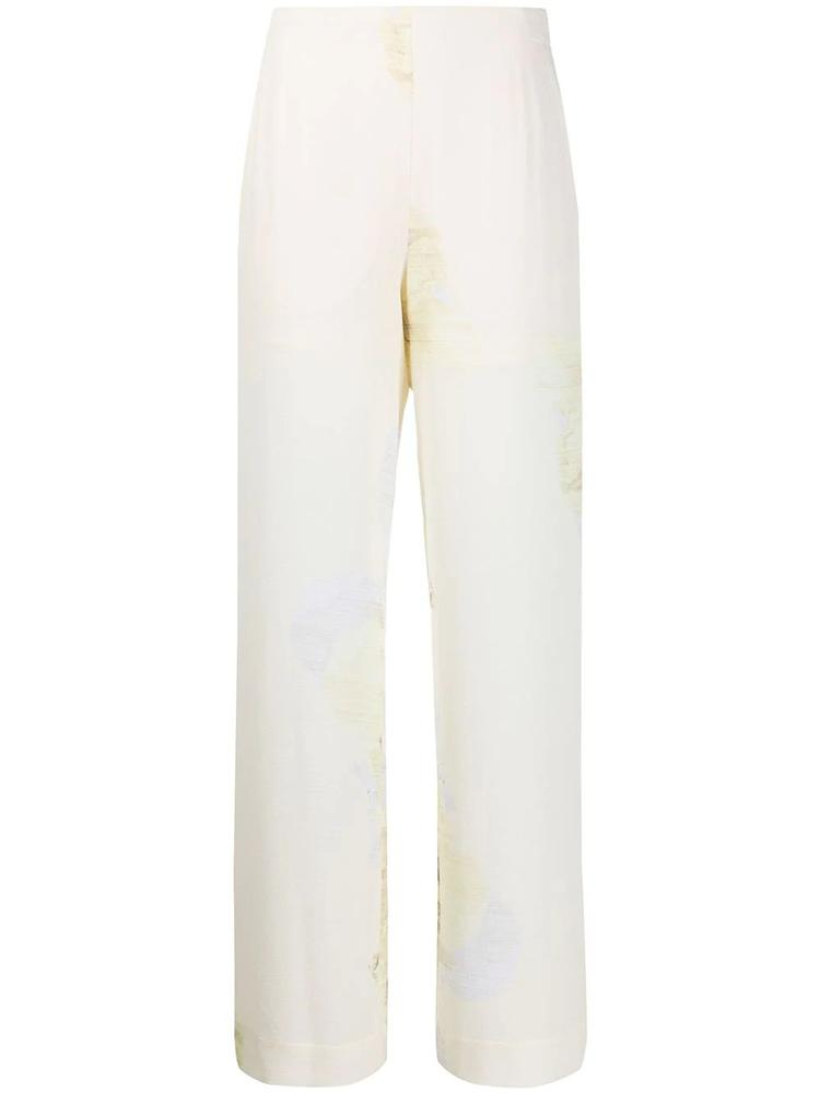 Nyo Printed Straight Leg Pants