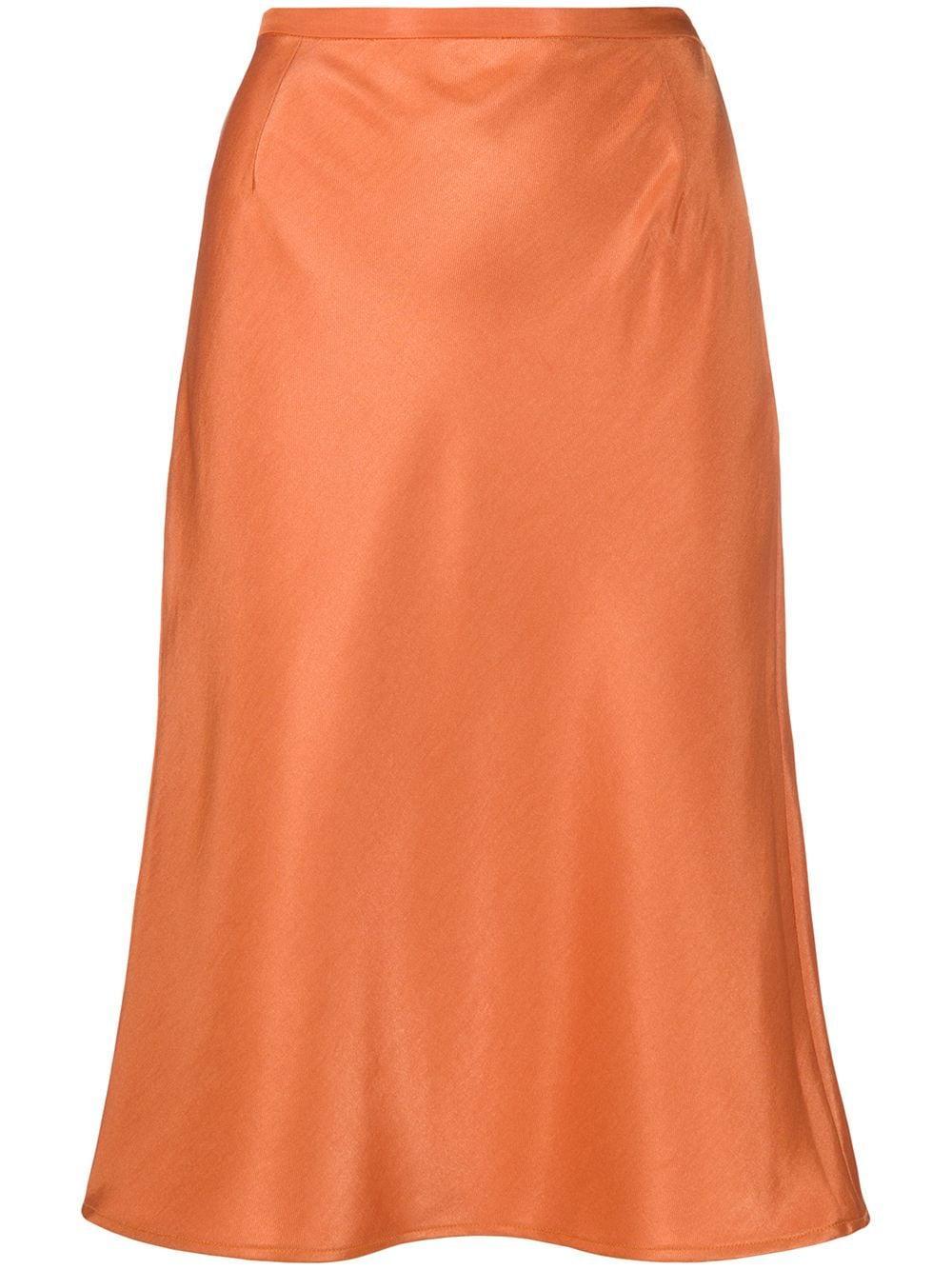 Sanne Straight Midi Skirt Item # 20890