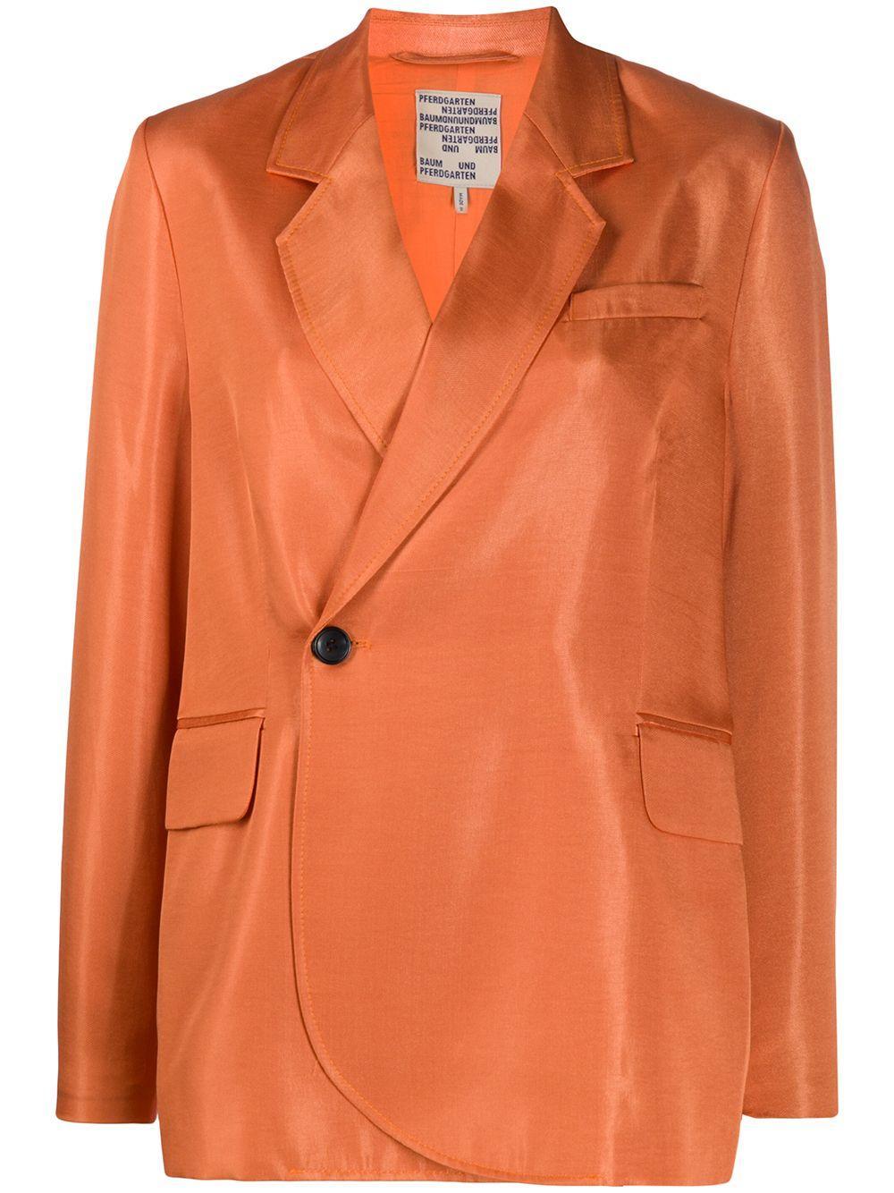Becks Single Side Button Blazer Item # 21075