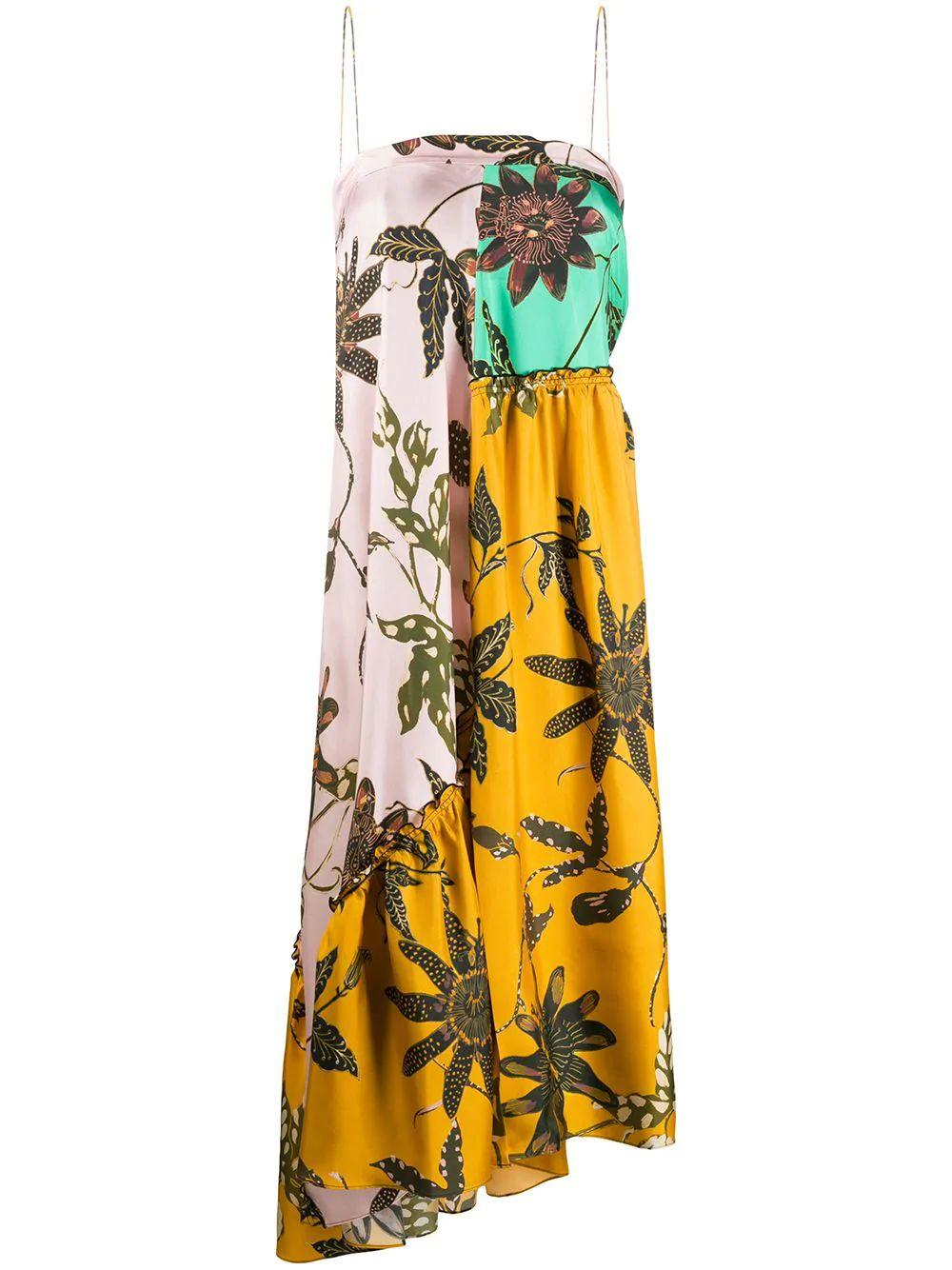 Powerful Flora Midi Dress