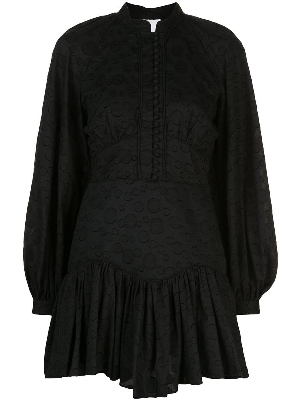 Bastia Cotton Pleated Skirt Dress Item # AL200107D