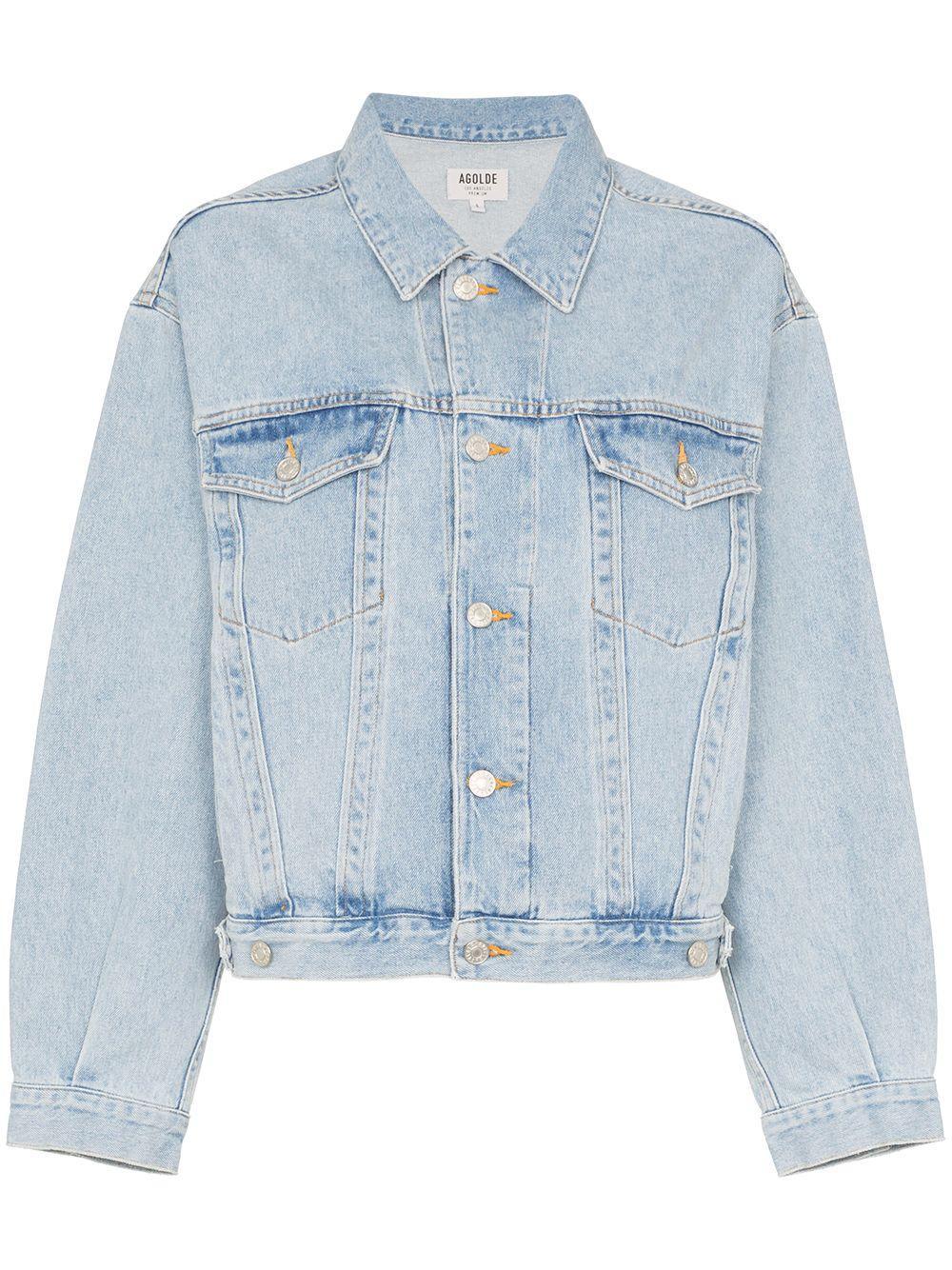 Charli Oversized Jean Jacket Item # A5010-778