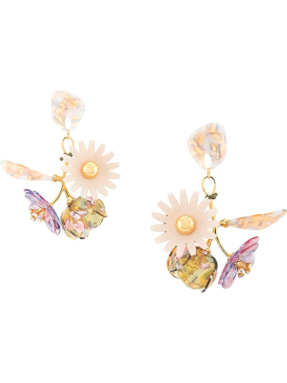 Rapunzel Bouquet Earrings