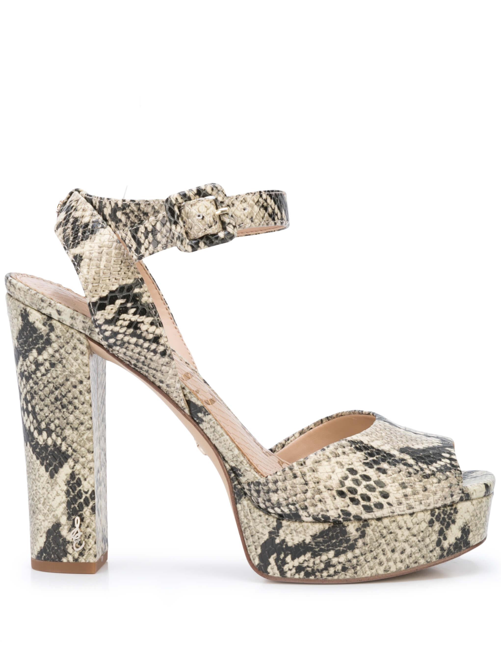 Snake Platform Sandal W/Ankle Strap Item # KATH-SNK