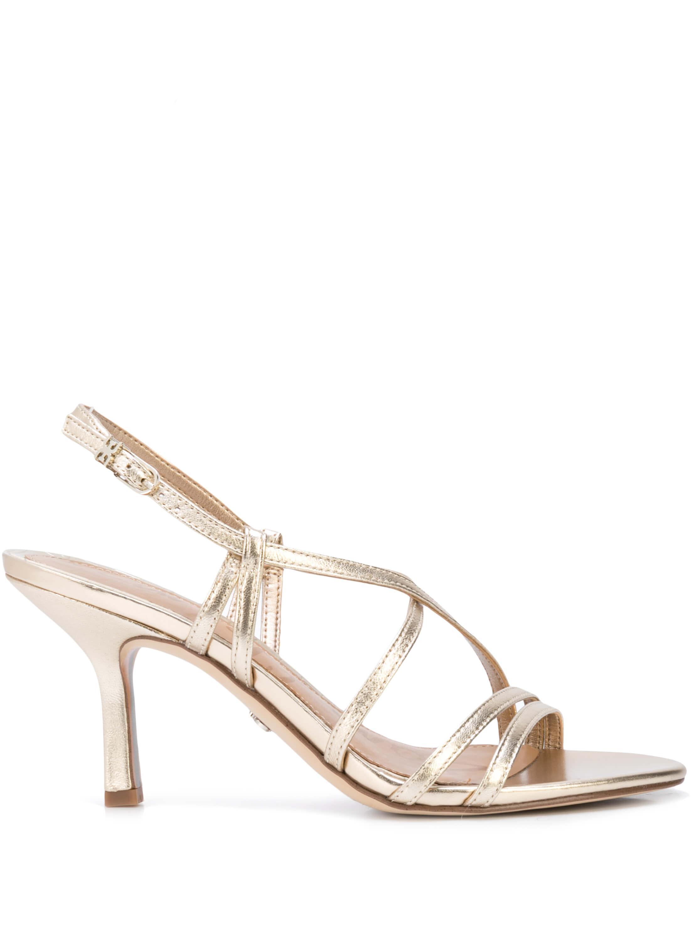 Paislee Metallic Strappy Sandal