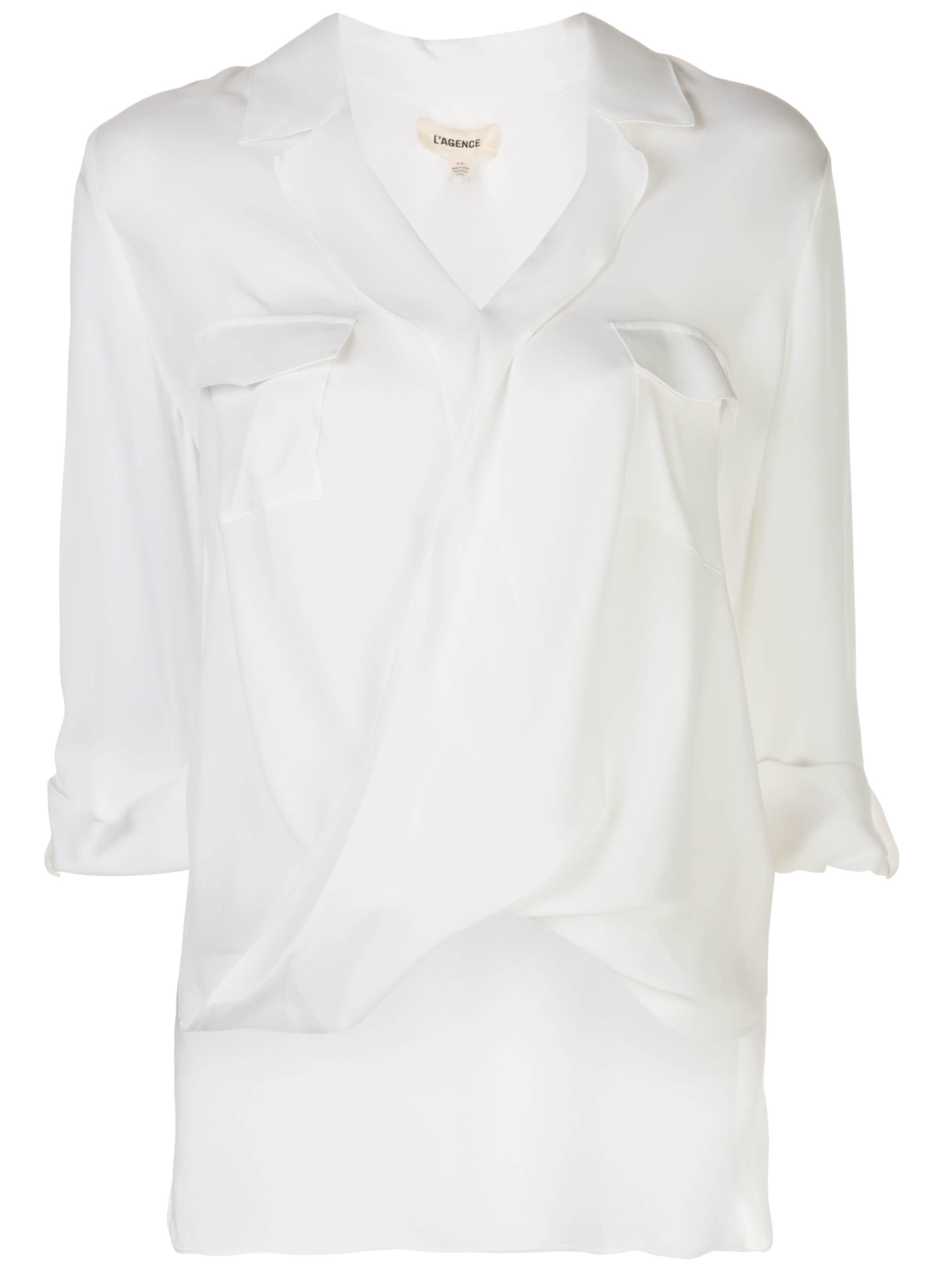 Phoenix Front Tunic Blouse Item # 40262GG