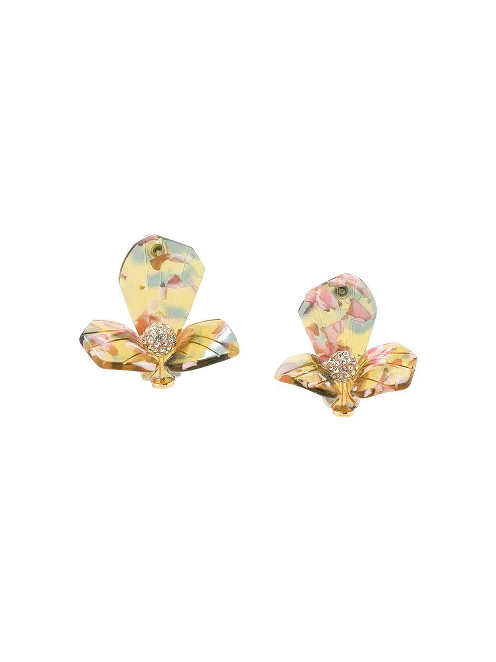 Trillium Stud Earrings Item # LS0754AC