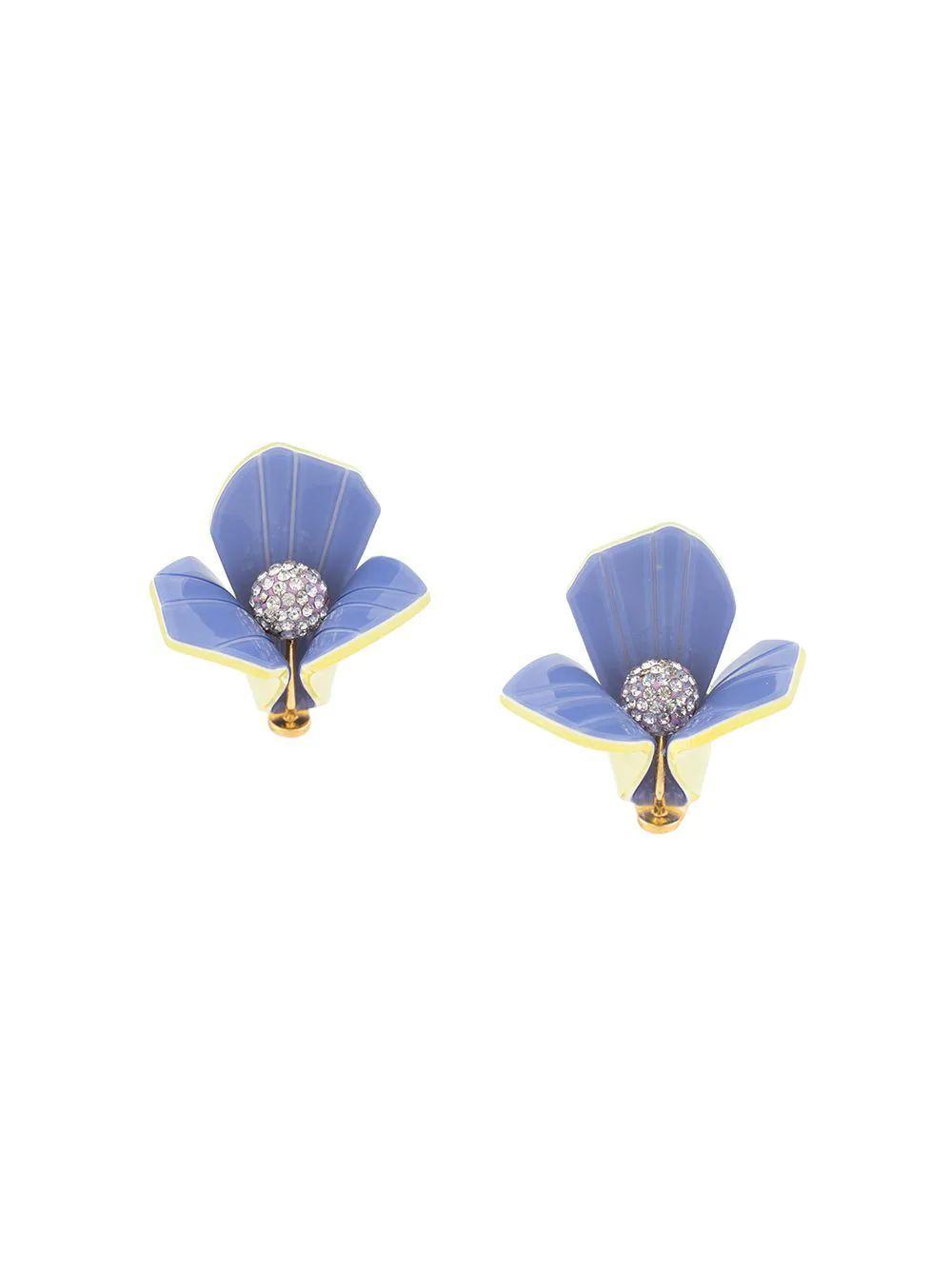 Trillium Stud Earrings Item # LS0754PW