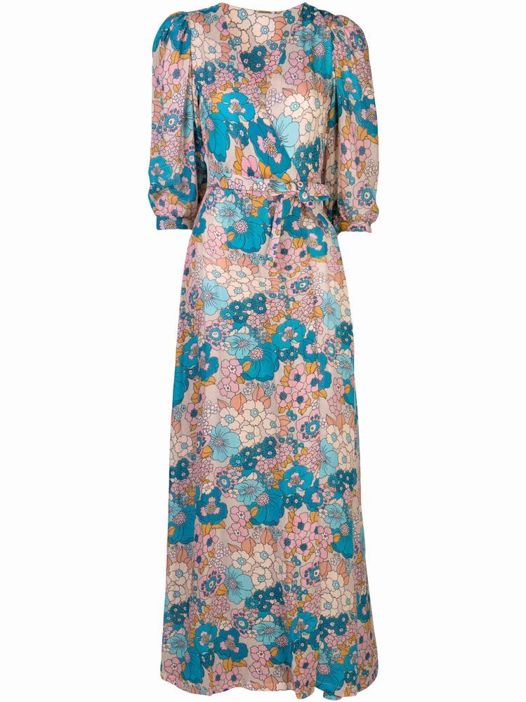 Kate Short Sleeve Maxi Dress Item # DBO1107