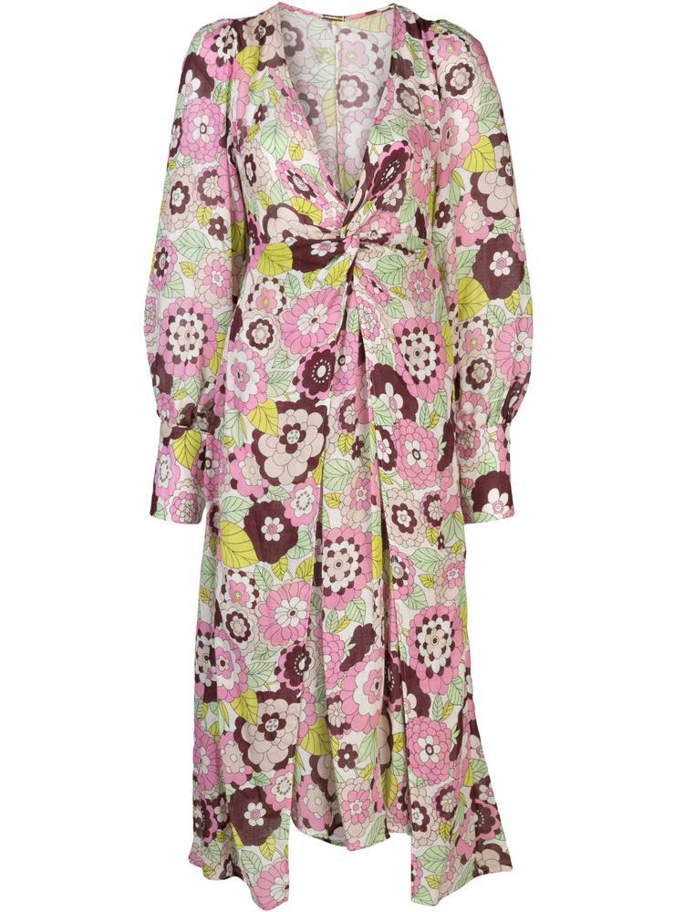 Mallie Long Sleeve Maxi Dress Item # DBO1106