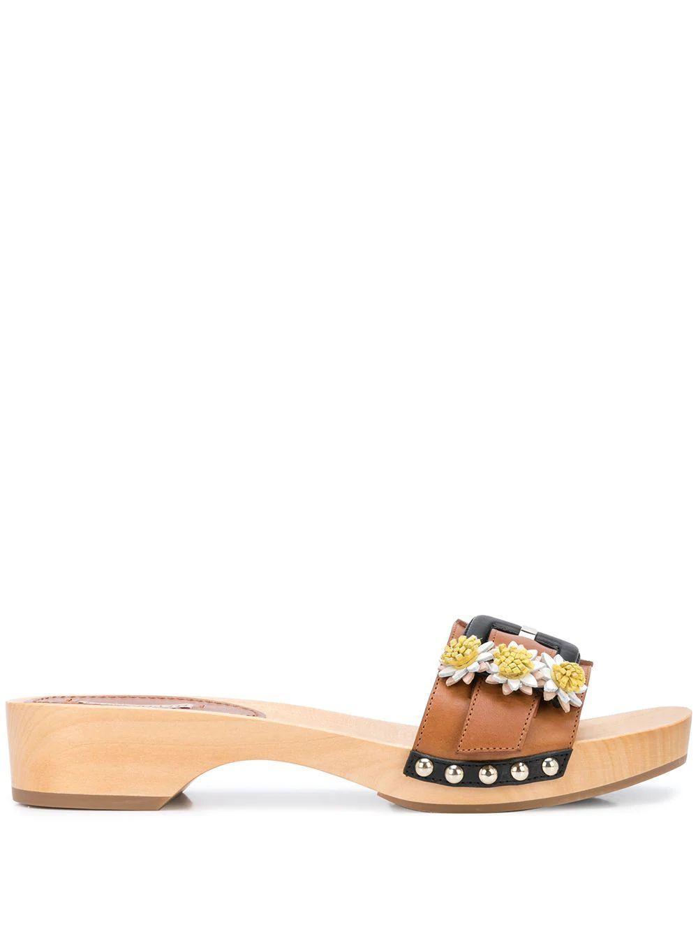 Jean Daisy Mini Mule Sandal