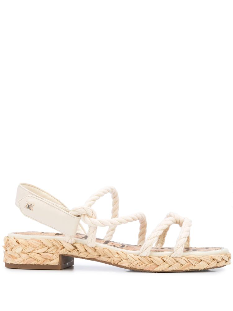Roped Strappy Slingback Sandal