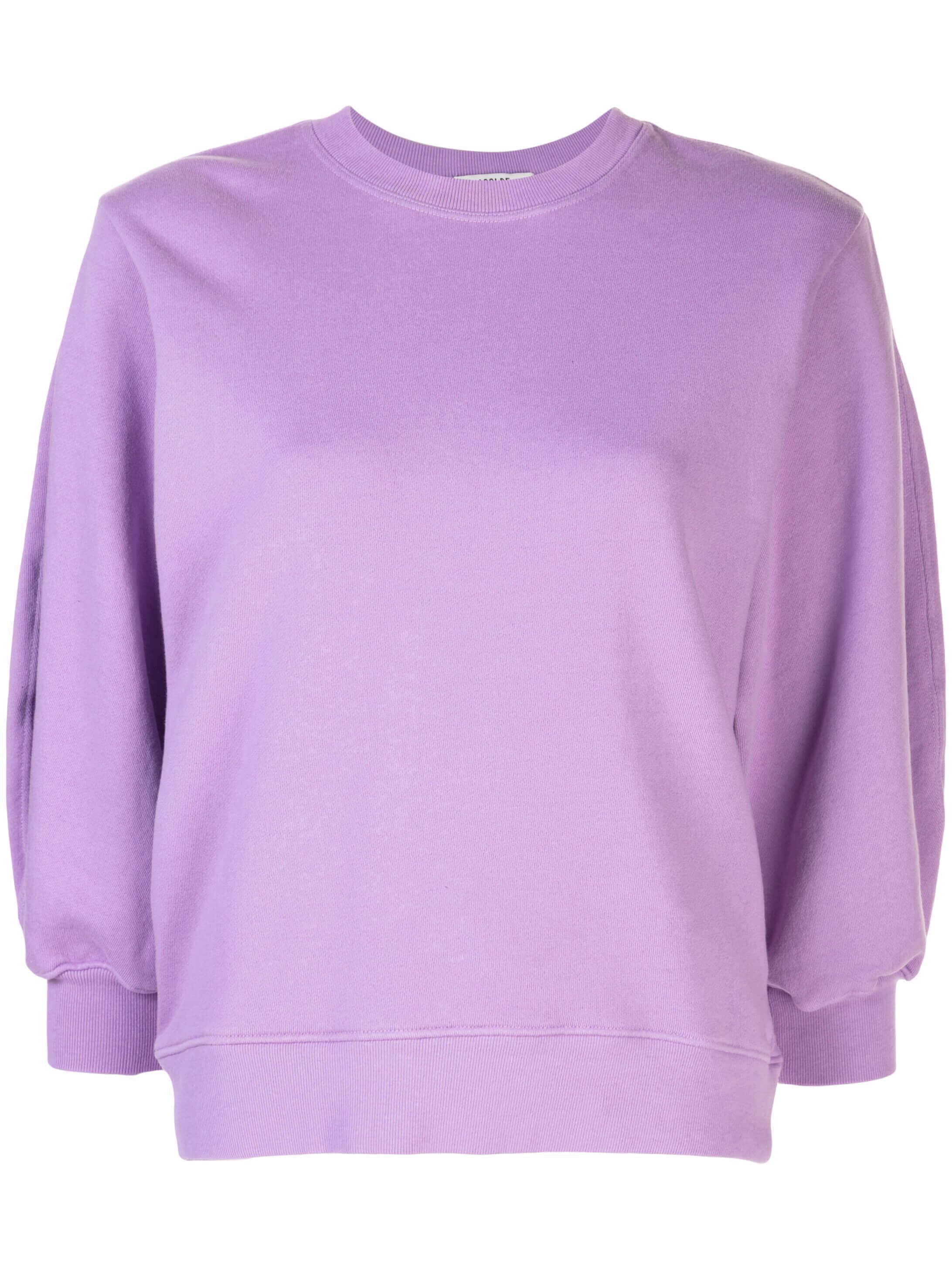 Thora 3/4 Sleeve Sweatshirt Crew Neck