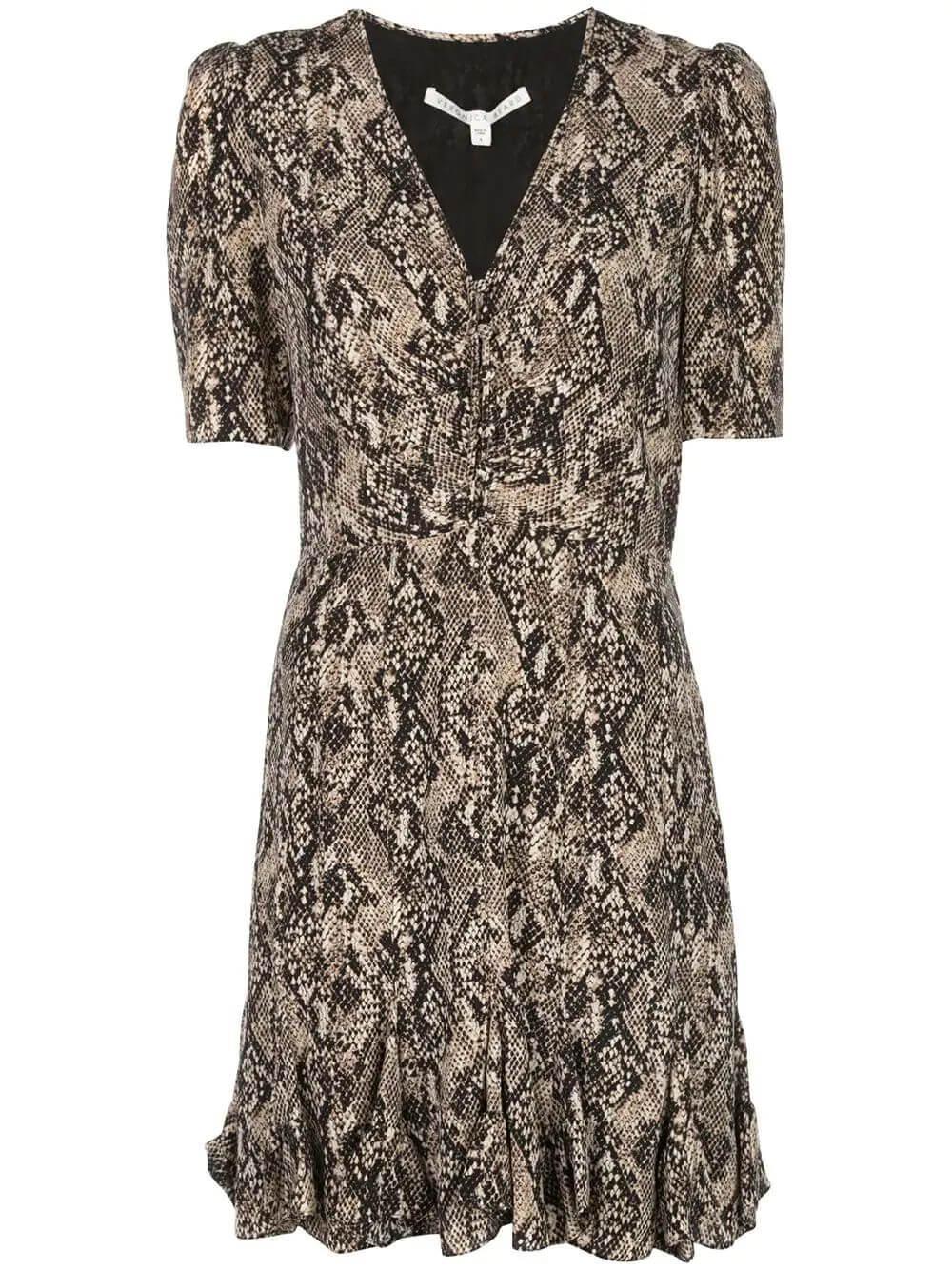 Short Sleeve Ried Dress Item # 2001CDC012778