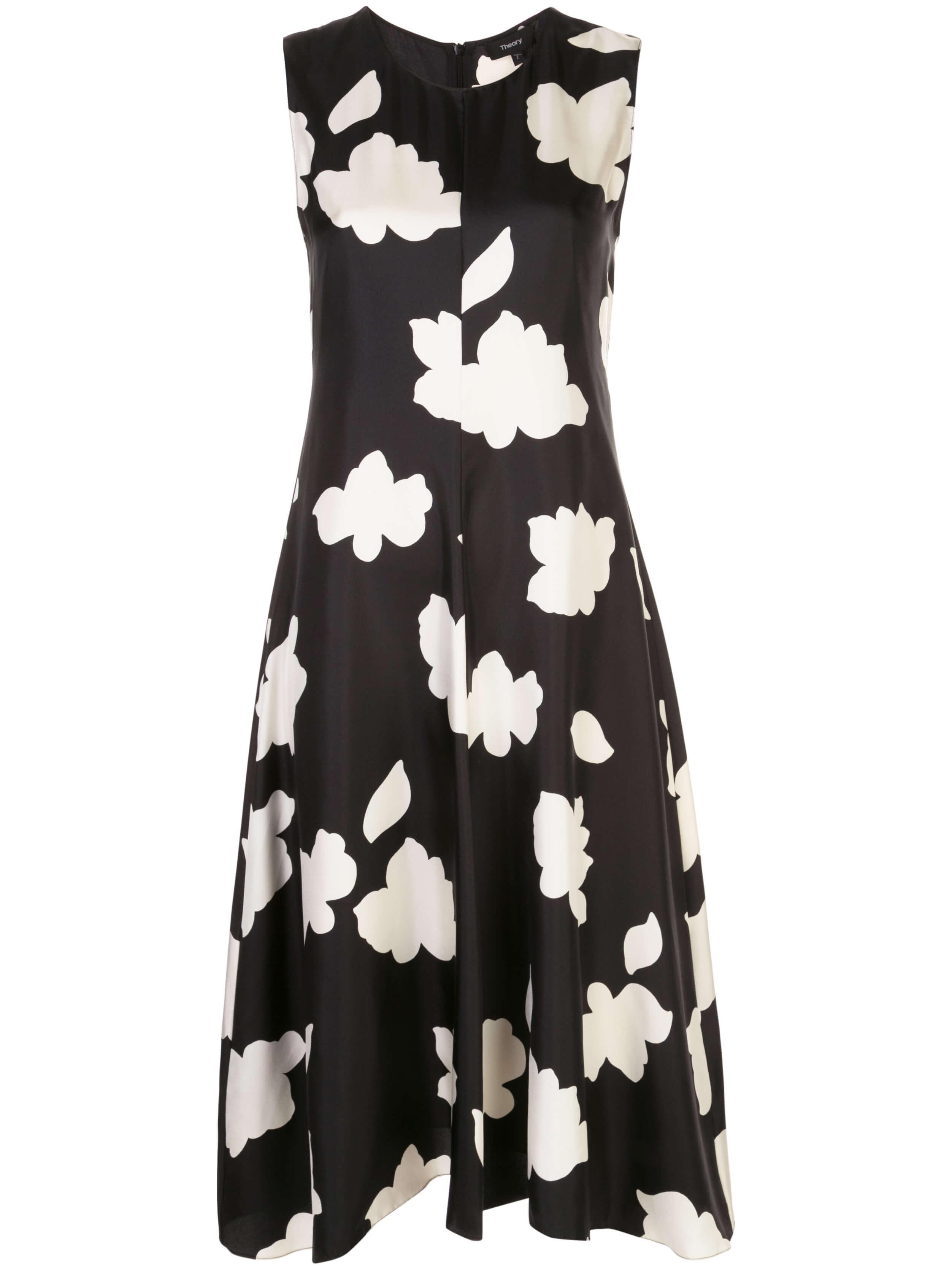 Nophella Flower Print Midi Dress Item # J1102608