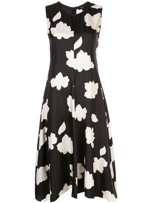 Nophella Flower Print Midi Dress