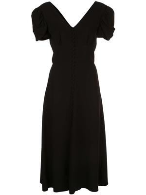 Margot Midi Puff Sleeve Dress