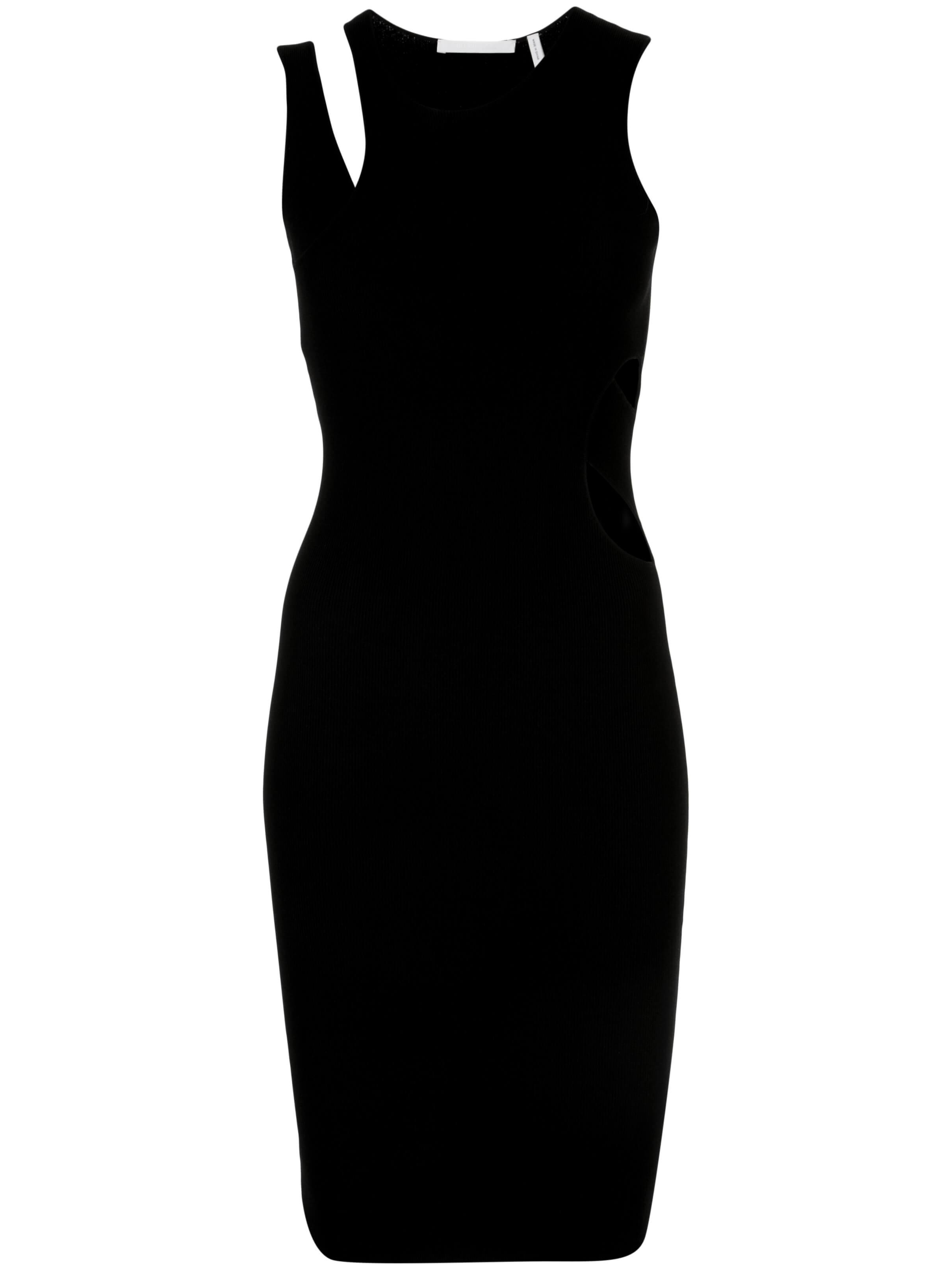 Layered Slash Tank Dress Item # K01HW709