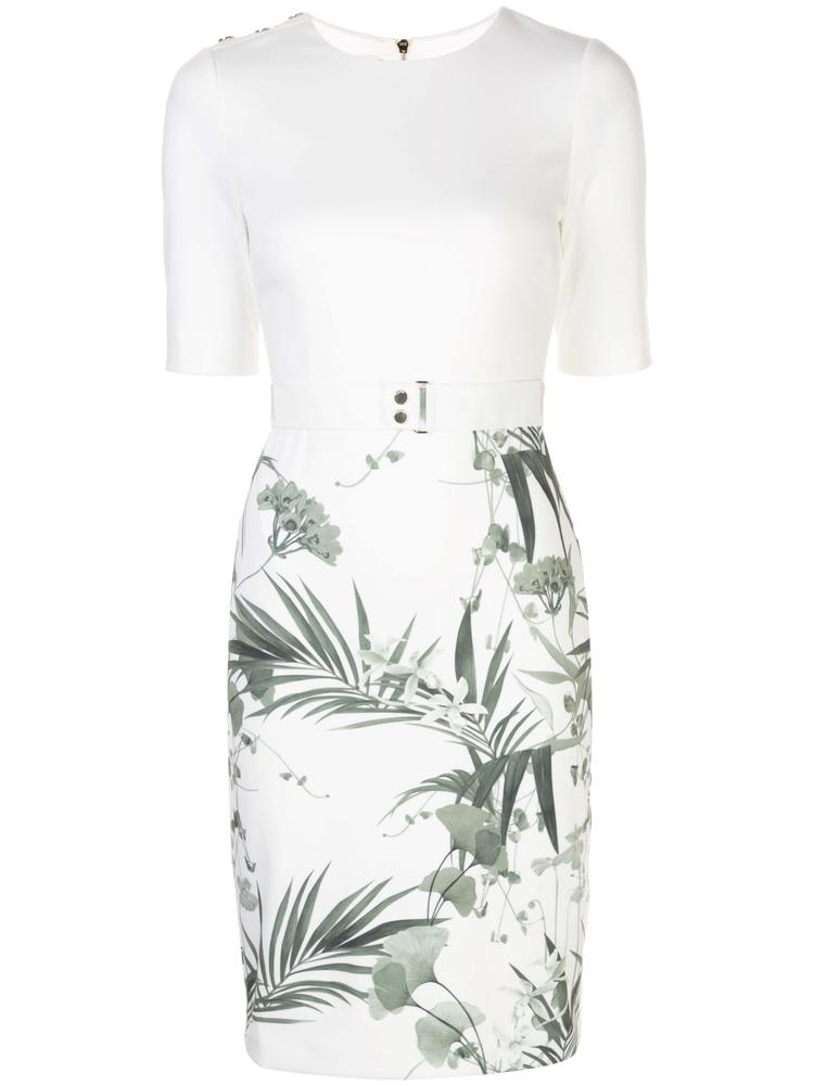 Tyyraa Palm Print Dress Item # 160756