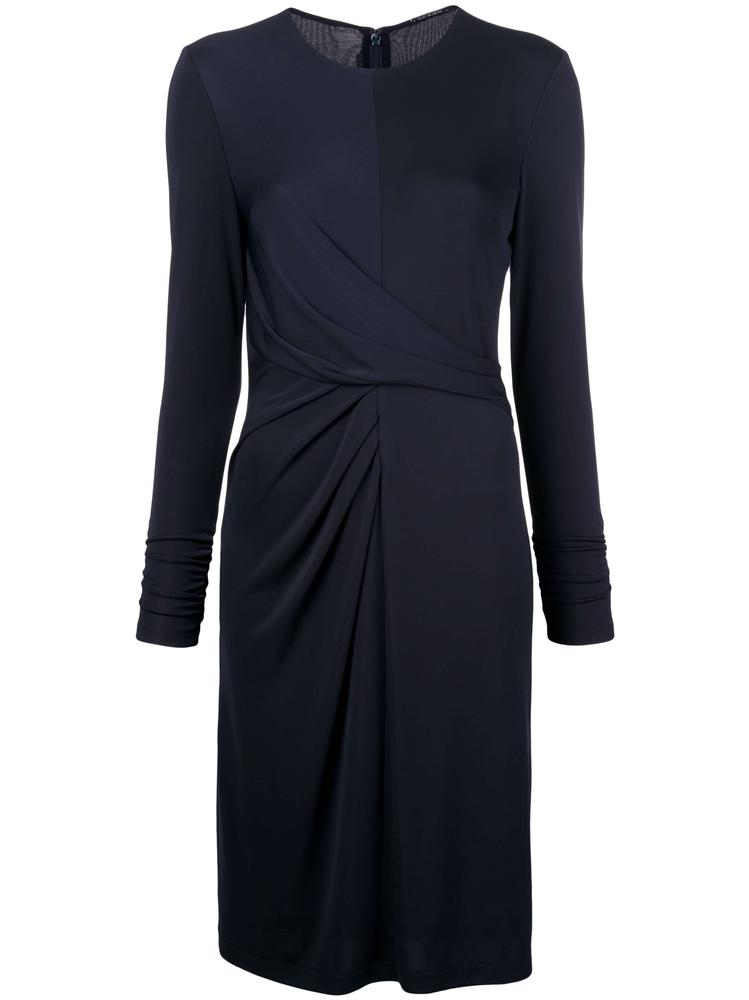 Winda Long Sleeve Ruched Dress