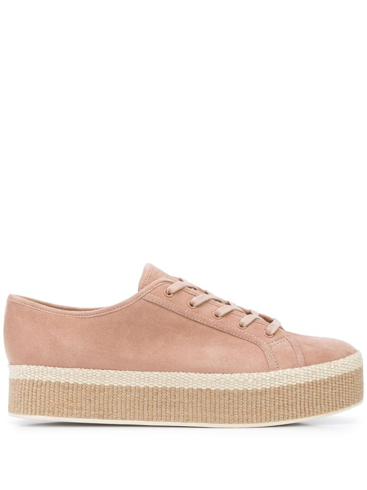 Windell Suede Lace Up Platform Sneaker Item # WINDELL
