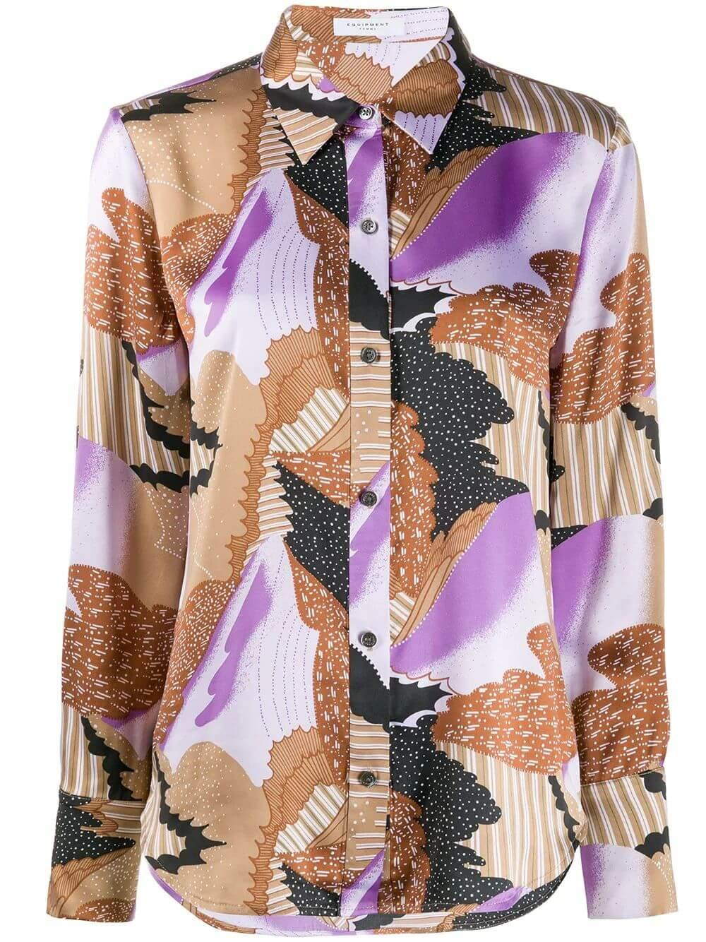 Sedienne Printed Buttondown