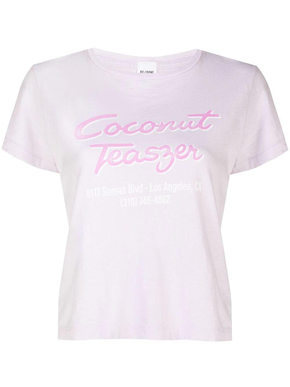 Classic Tee `Coconut Teaser`
