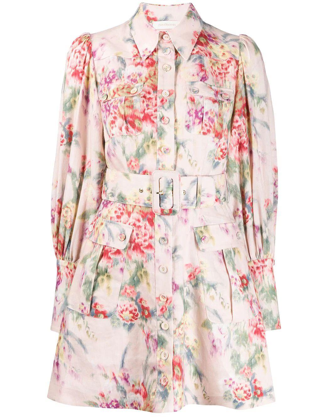 Wavelength Long Sleeve Mini Dress