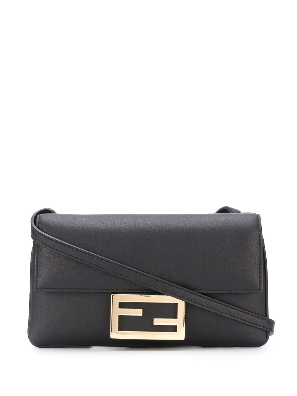 Duo Baguette Leather Bag Item # 8BS040-A5DY