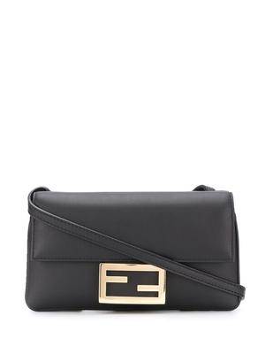 Duo Baguette Leather Bag