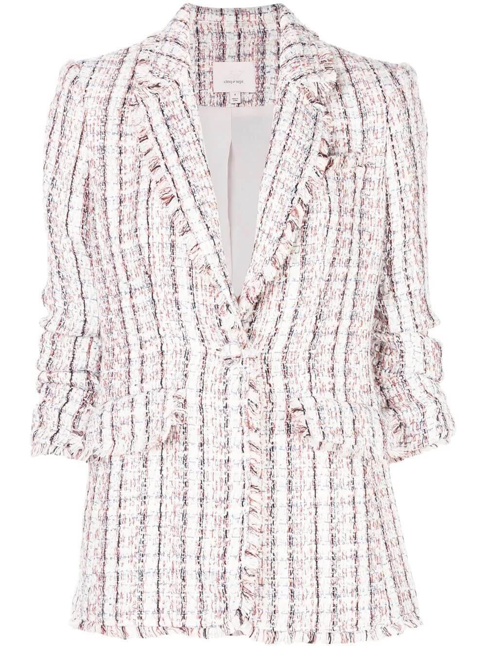 Boucle Khloe Tweed Blazer Item # ZJ3153372Z