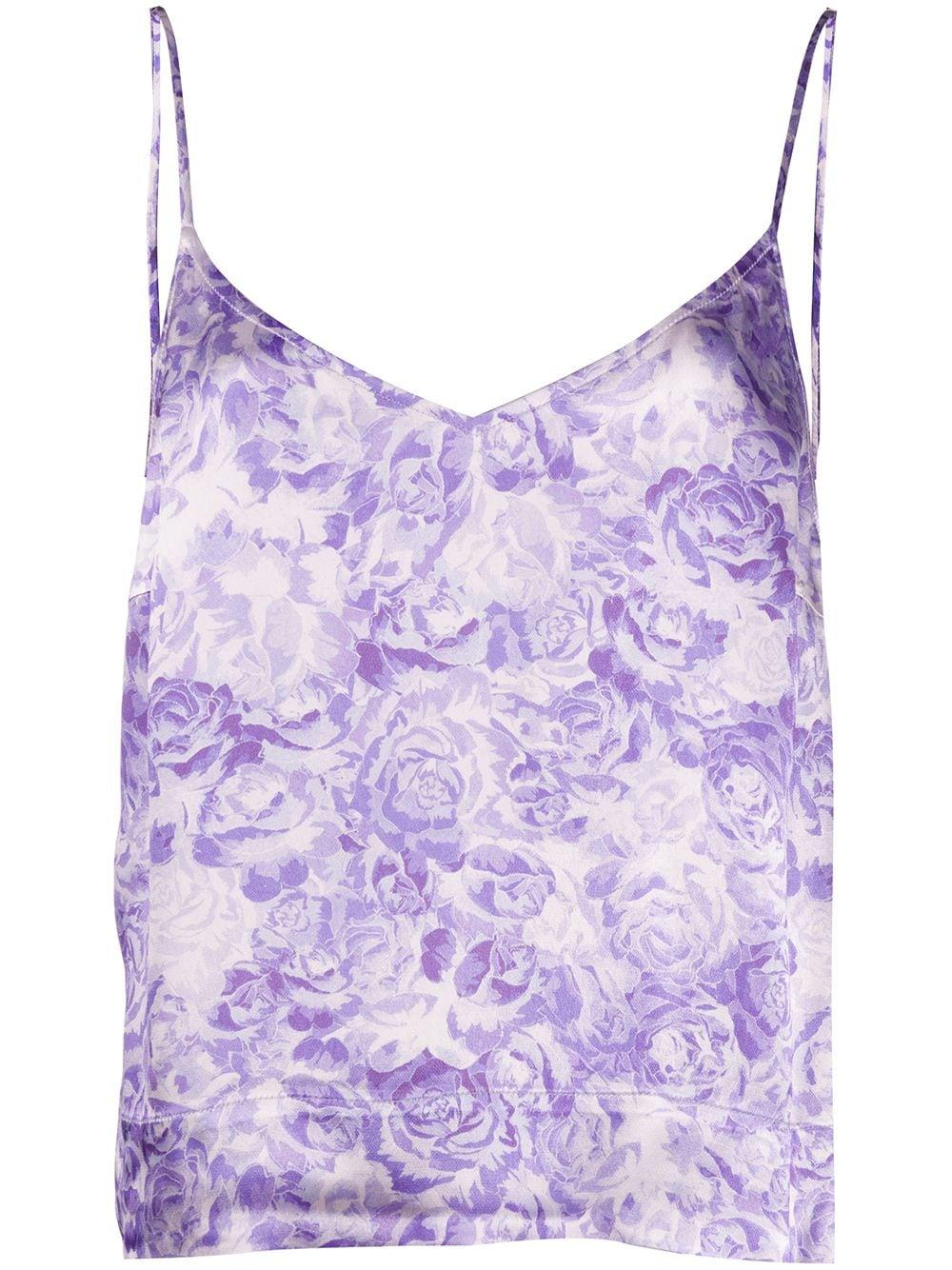 Heavy Satin Printed Cami