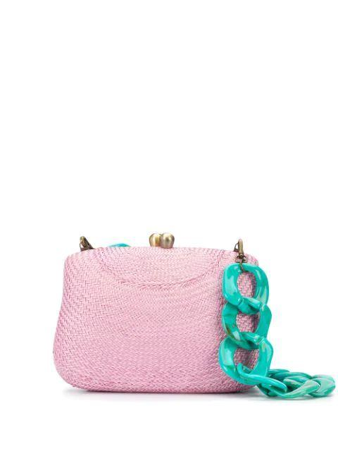 Blair Bun Bag With Chain
