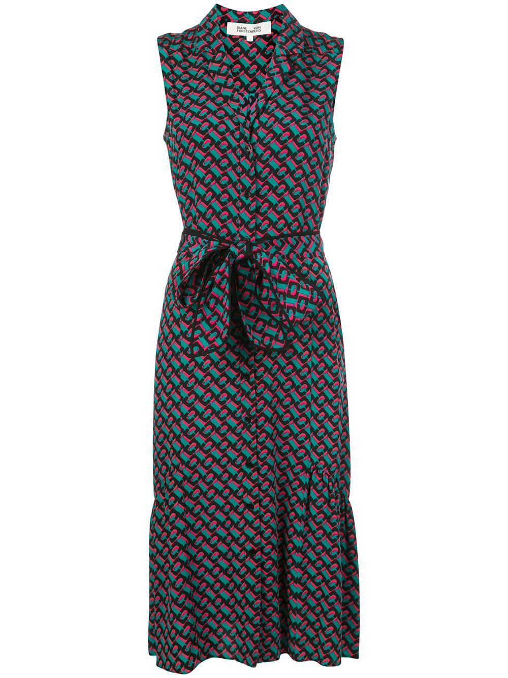 Delilah Sleeveless Wrap Dress