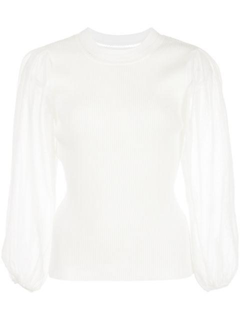 Veronica Tissue Cotton Sweater