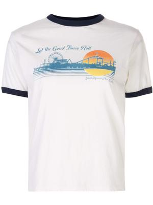 Ringer Good Times Graphic Fitted Tee