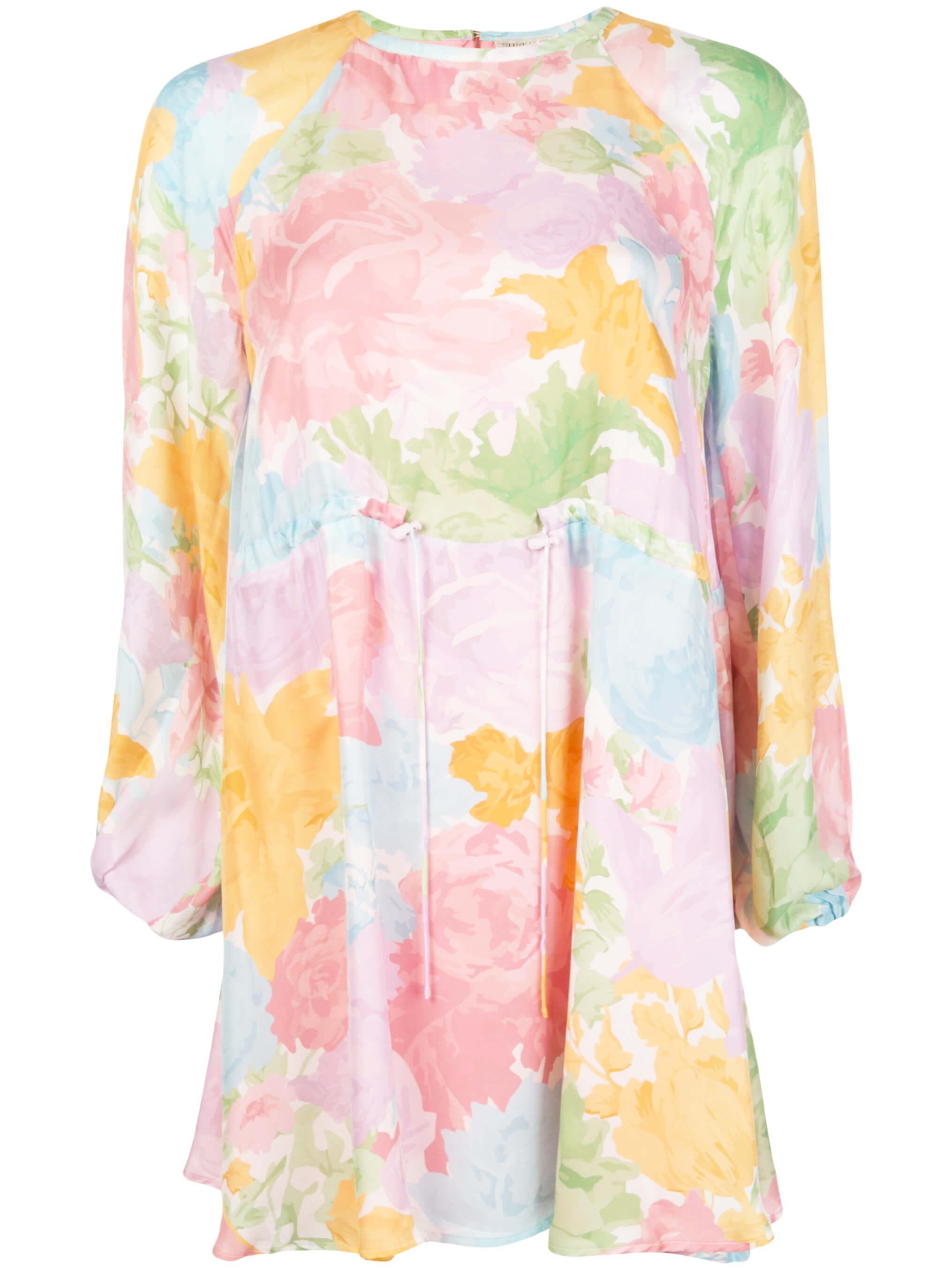 Coco Rose Garden Silk Dress Item # SG2968