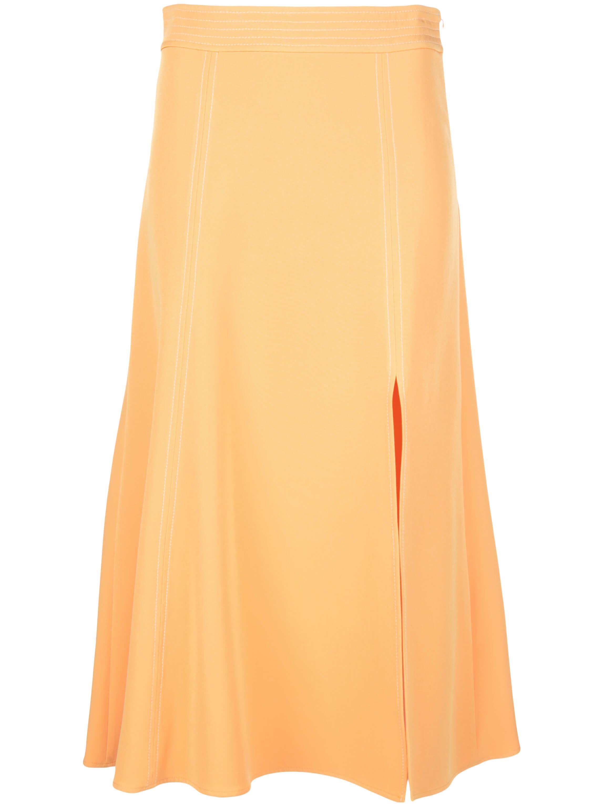 Jada Solid Cady Skirt With Slit Item # SG2972