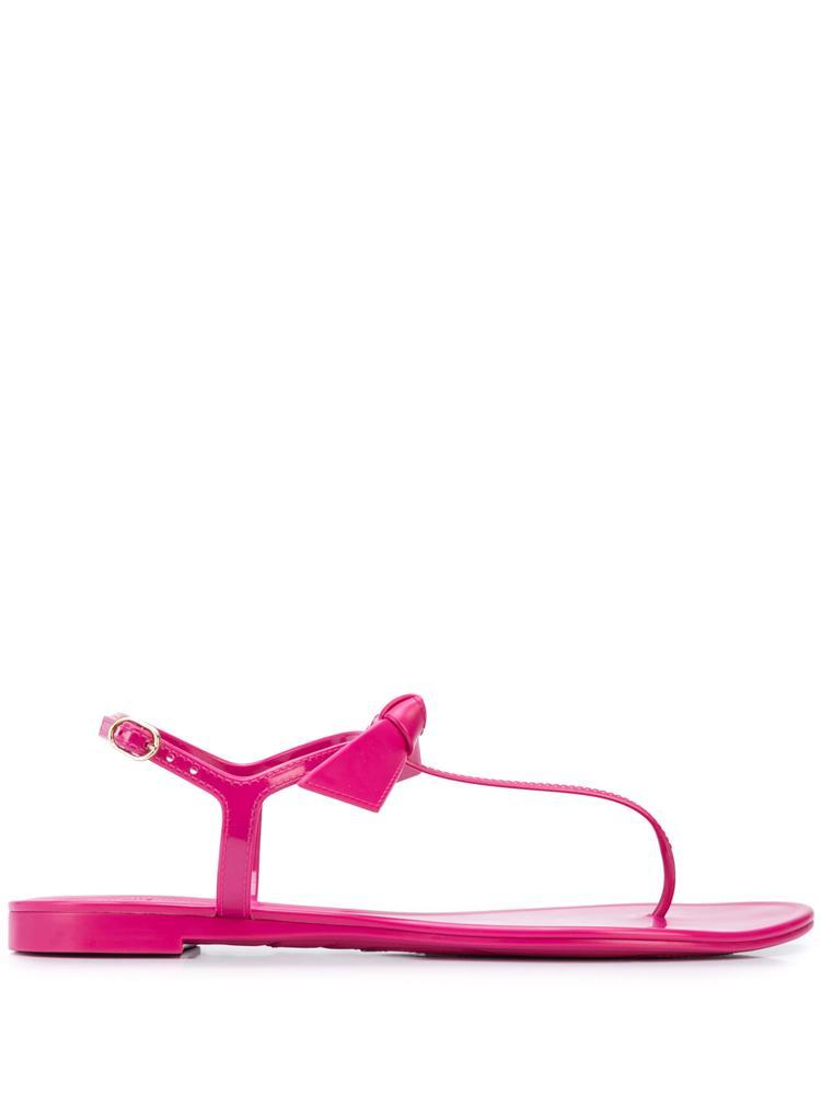 Clarita T- Strap Jelly Flat Sandal Item # B3530600010001