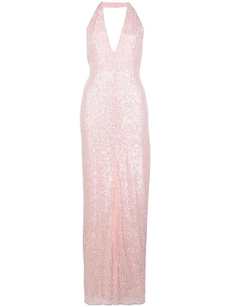 Valentina Halter Sequin Gown