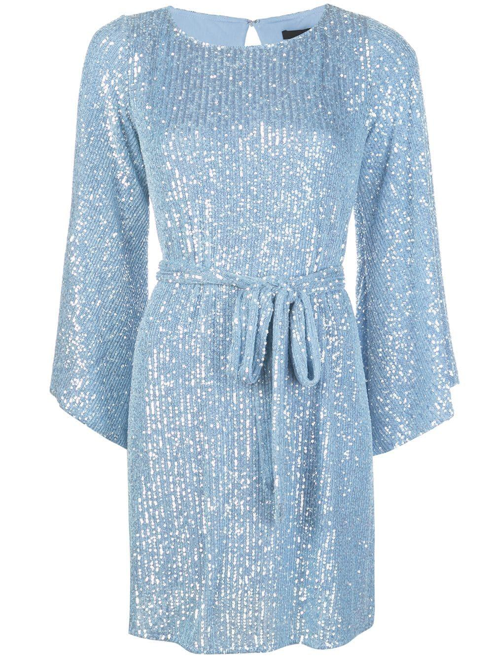 Maggie Crystal Sequin Mini Dress