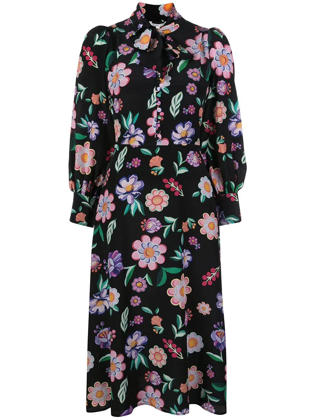 Clementine Floral Dress Item # OR0380