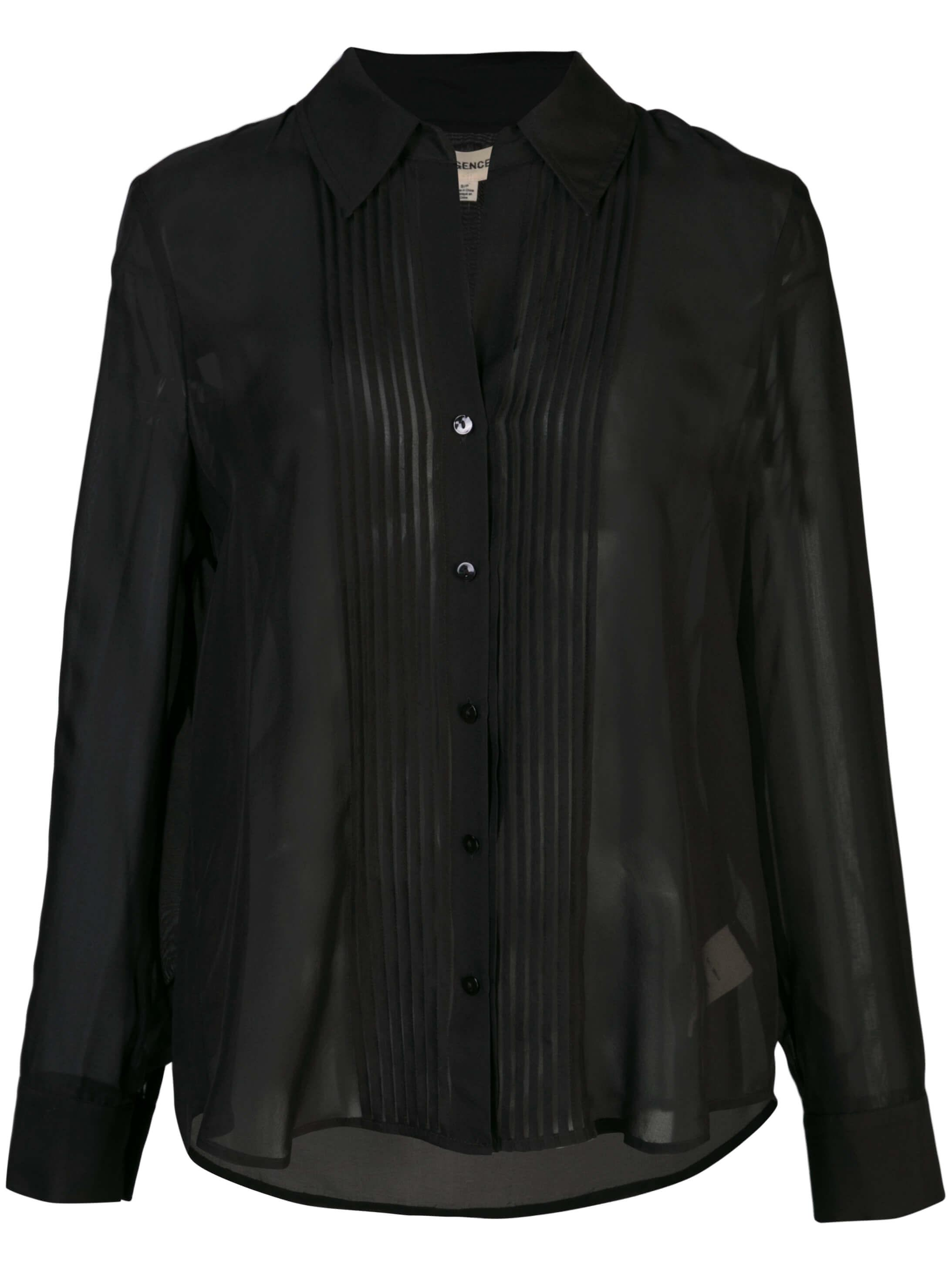 Swinton Pintuck Blouse