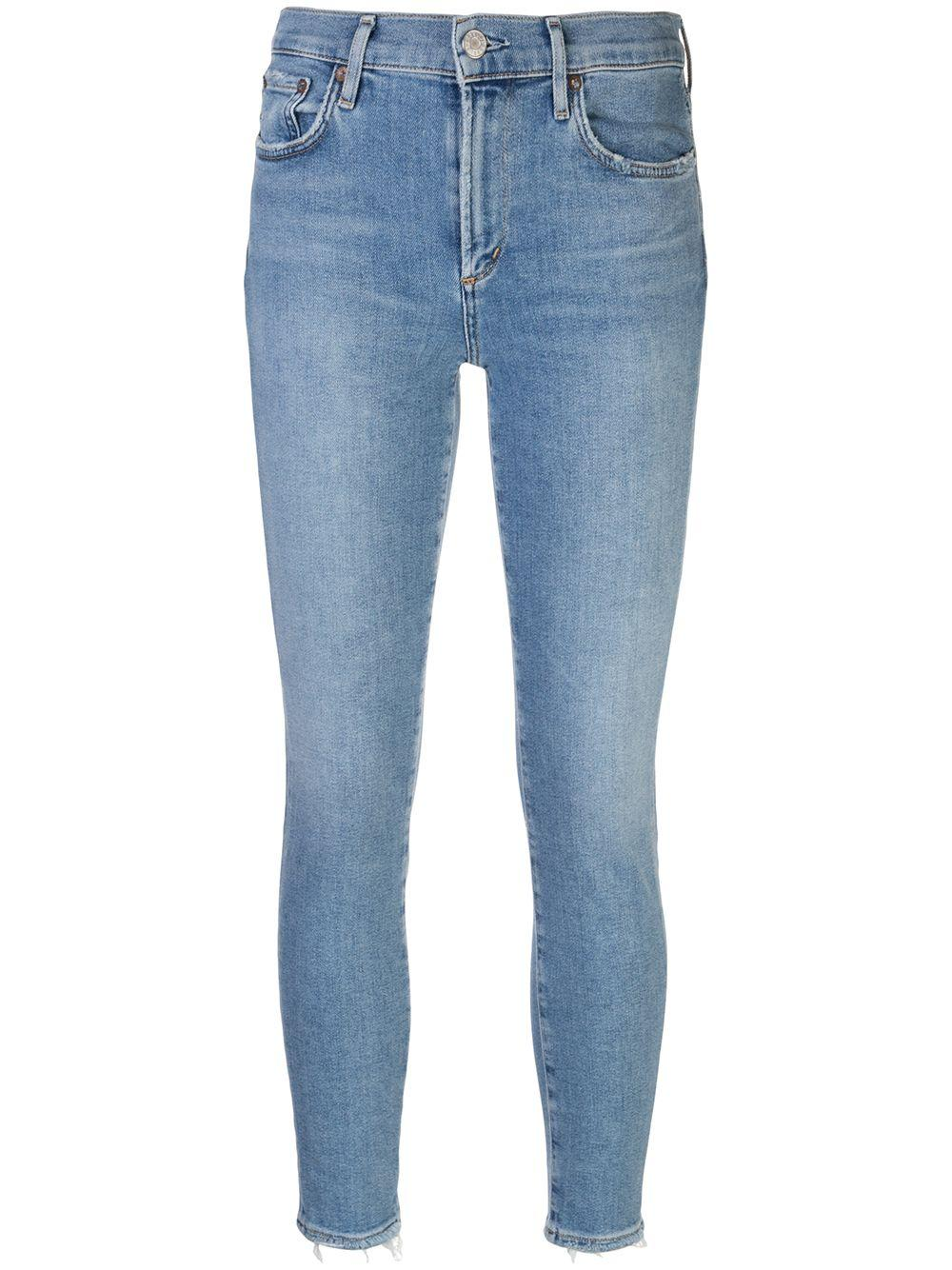 Sophie Mid Rise Skinny Jean Item # A123E-1156