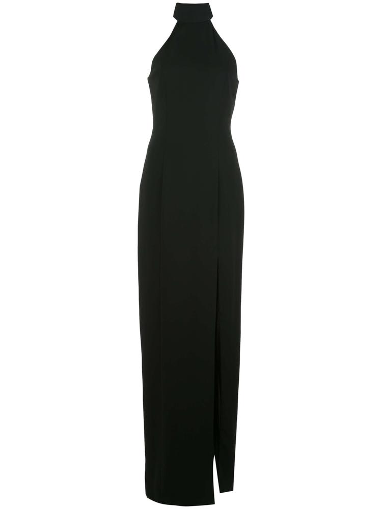 Carlah Halter Open Back Gown Item # 123601