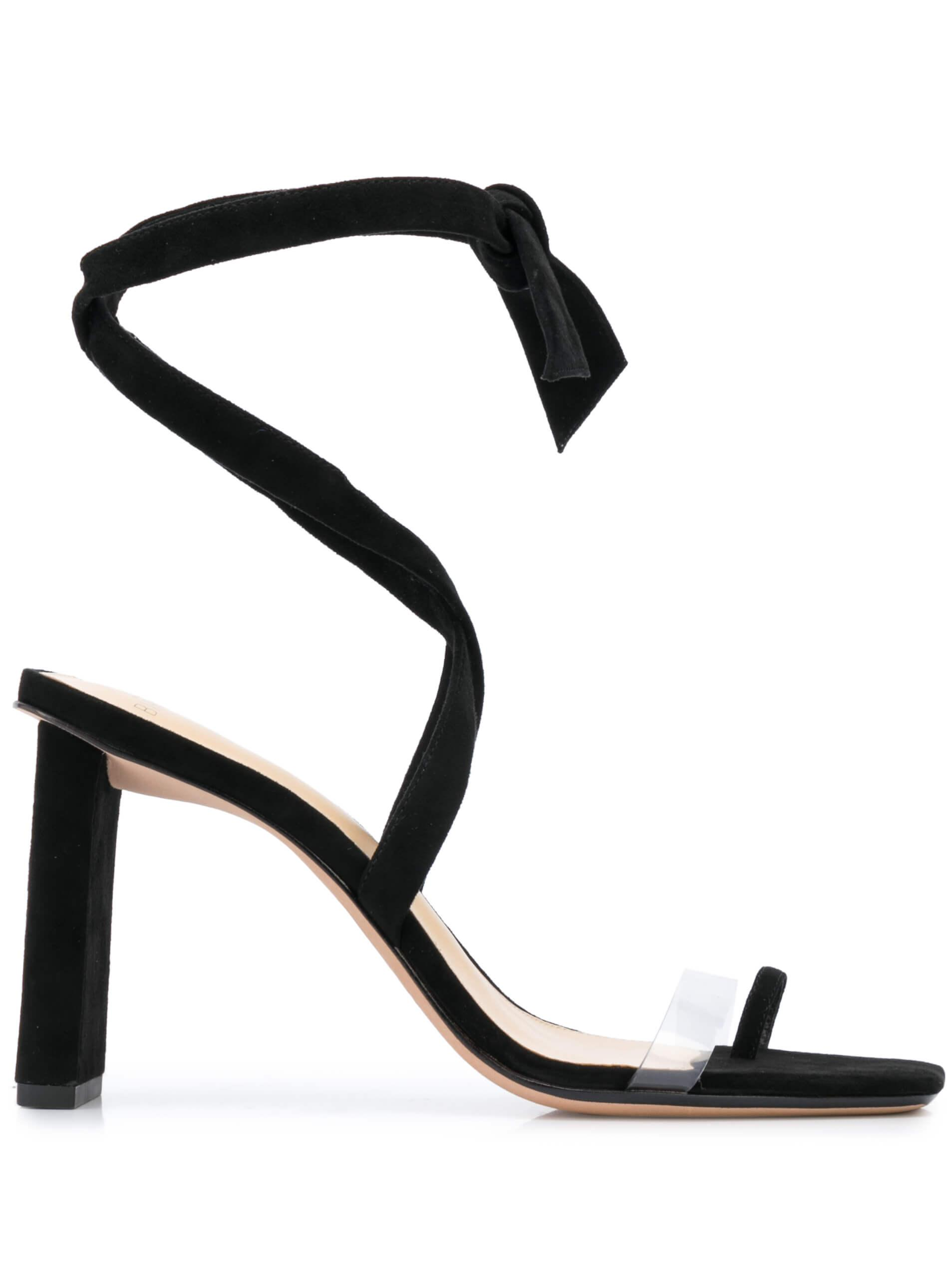 Katie 85mm PVC/Leather Sandal