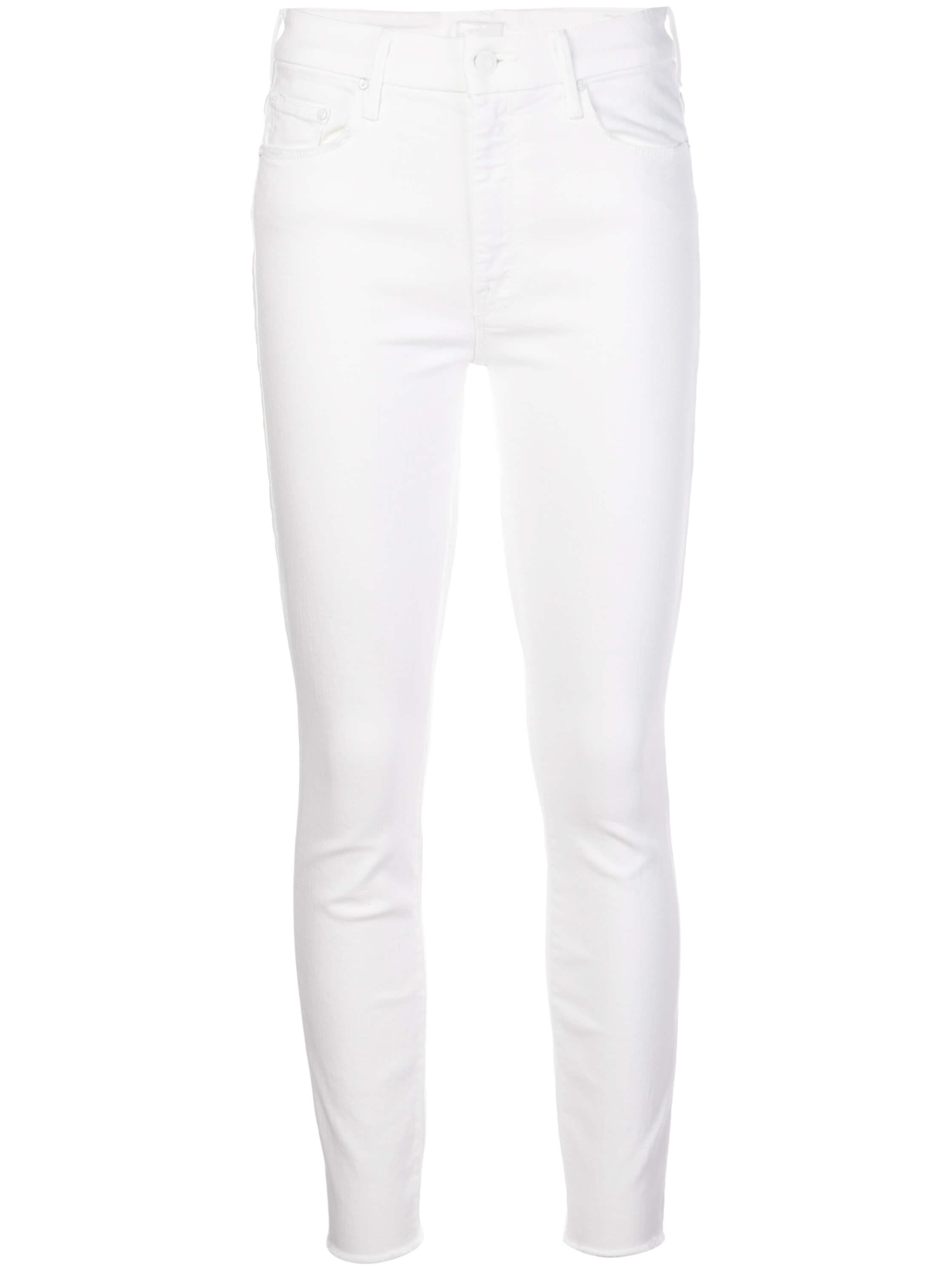 Looker High Waisted Ankle Fray Skinny