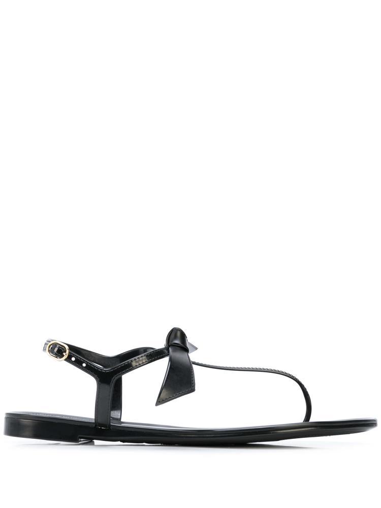Clarita T-Strap Jelly Flat Sandal