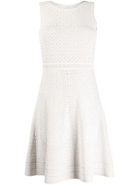 Sleeveless Fit And Flare Knit Dress