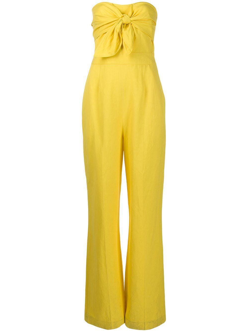 Alene Tie Front Jumpsuit Item # TS01503DL